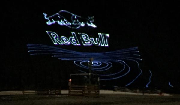 Laser Red Bull