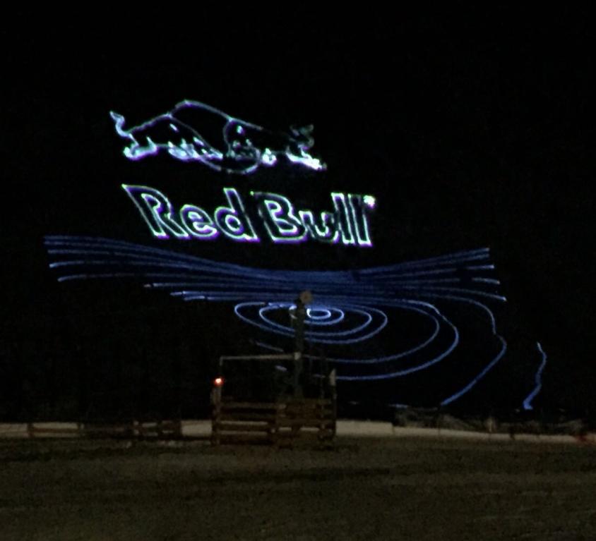 Láser Red Bull